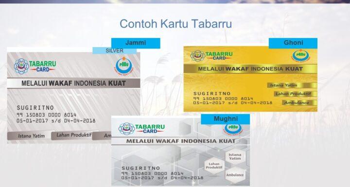 Wakaf Tabarru Card
